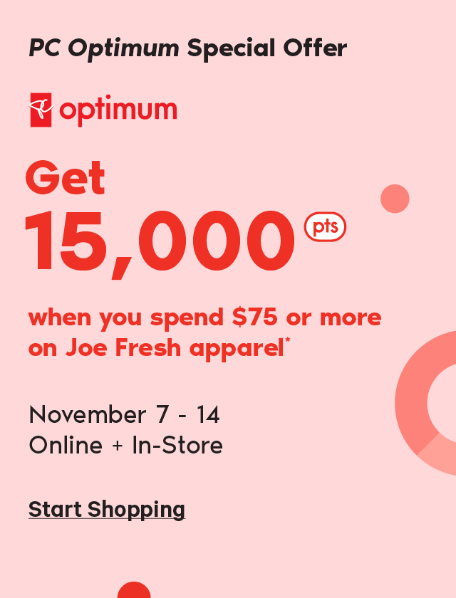 PC Optimum  Special Offer