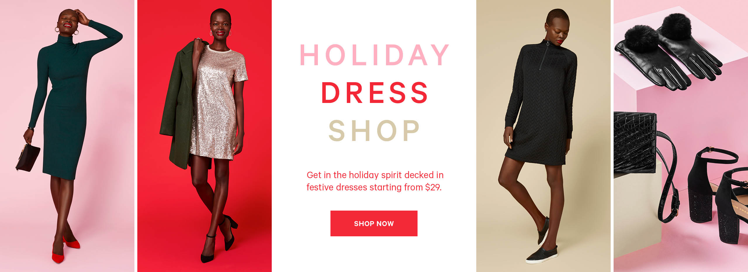 THE HOLIDAY DRESS SHOP