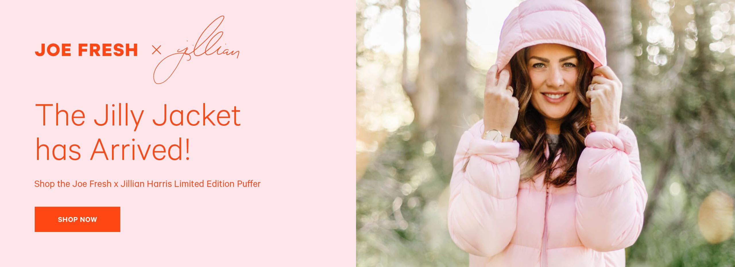 Shop the  Jillian Harris  and Joe Fresh Limited Edition Puffer